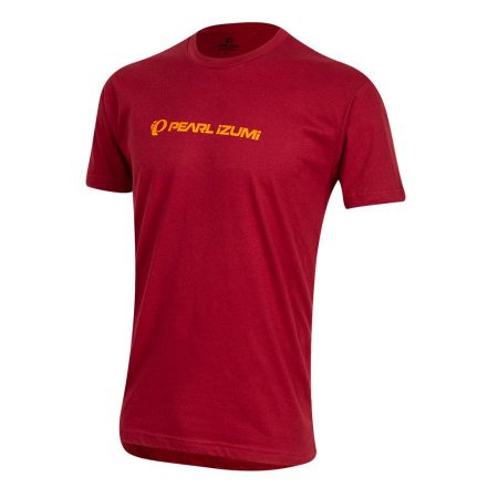 Homme Pearl Izumi Graphic T-Shirt Cardinal Static Logo | Bikestyle™