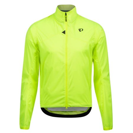 Homme Pearl Izumi Zephrr Barrier Jacket Screaming Yellow | Manteaux Et Gilets