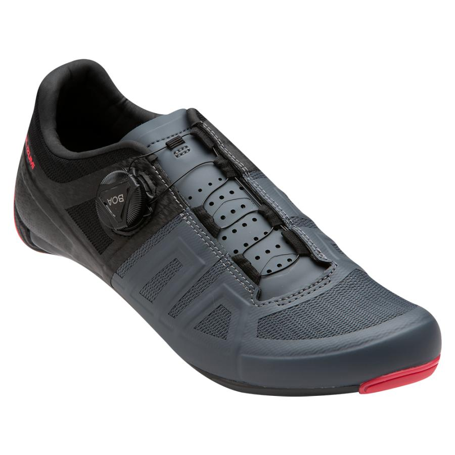 Femme Pearl Izumi Attack Road Black / Atomic Red | Chaussures