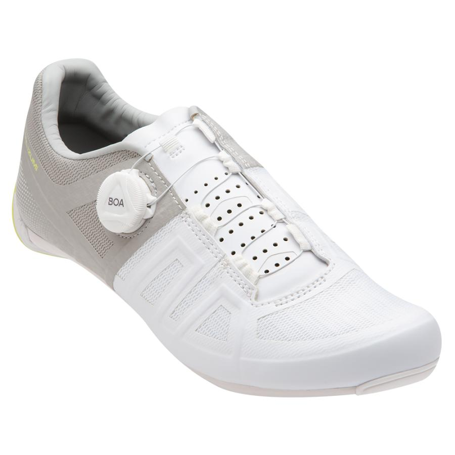 Femme Pearl Izumi Attack Road White/Grey | Chaussures