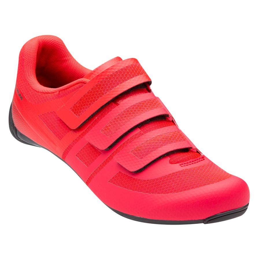Femme Pearl Izumi Quest Road Atomic Red/Turbulence | Chaussures