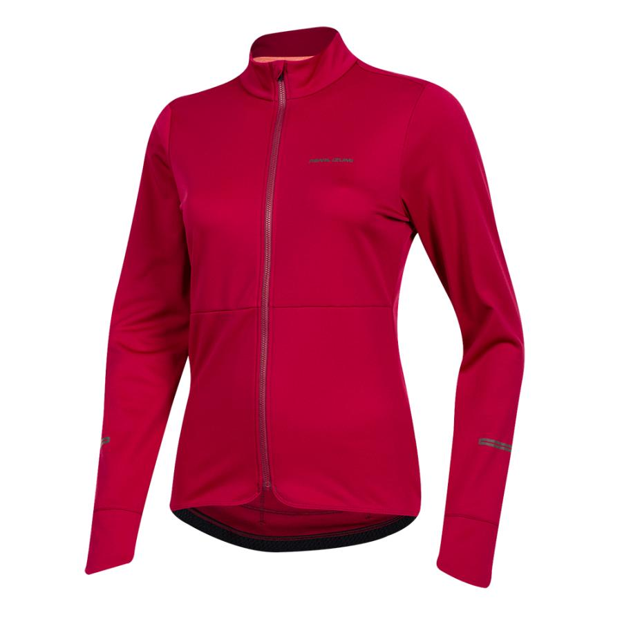 Femme Pearl Izumi Quest Thermal Jersey Beet Red | Maillots