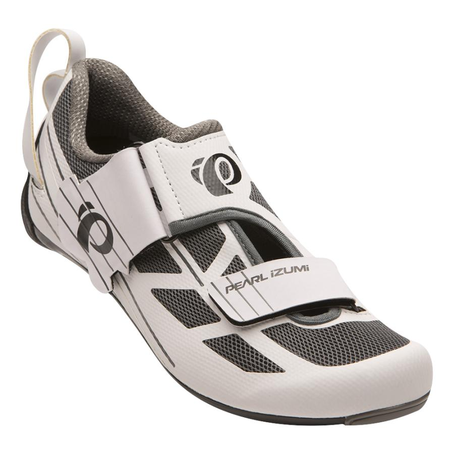 Femme Pearl Izumi Tri Fly SELECT v6 White/Shadow Grey | Chaussures