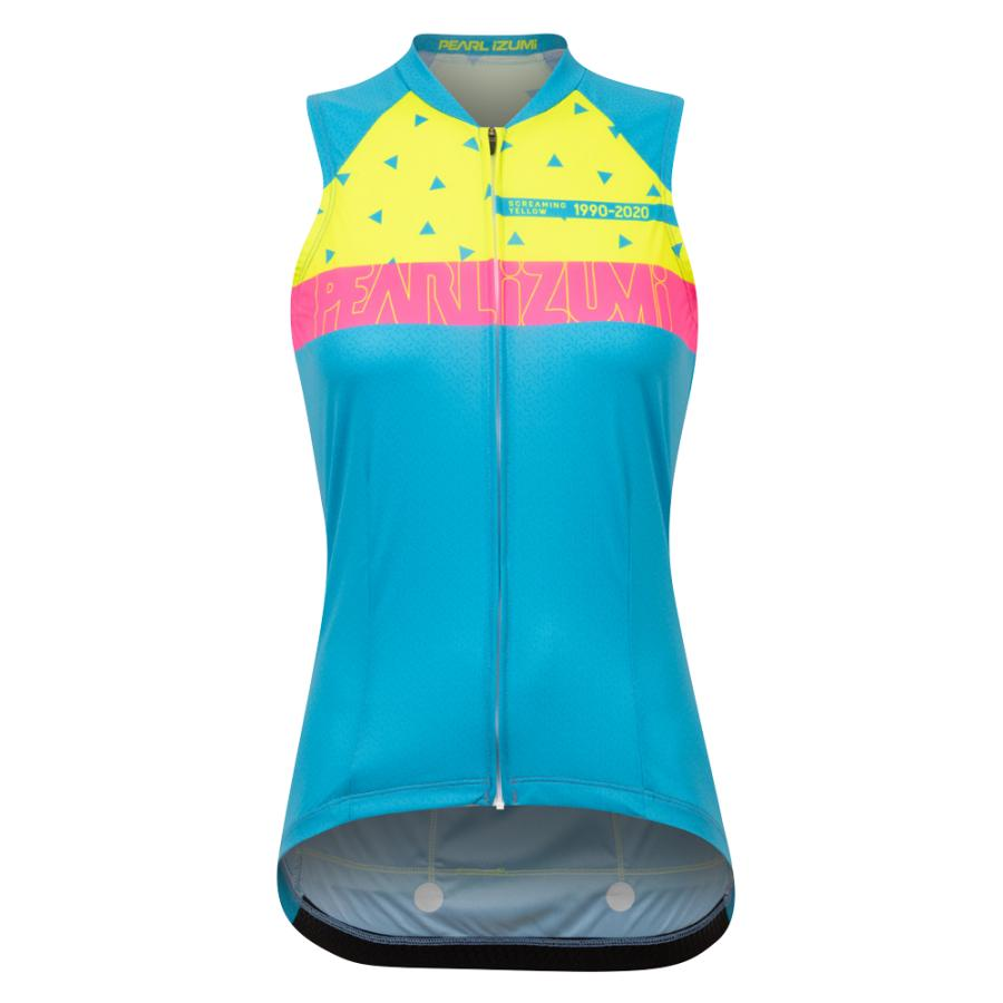 Femme Pearl Izumi Women's Limited Edition Awesome 80's Attack Jersey Awe 80S 20 | Route