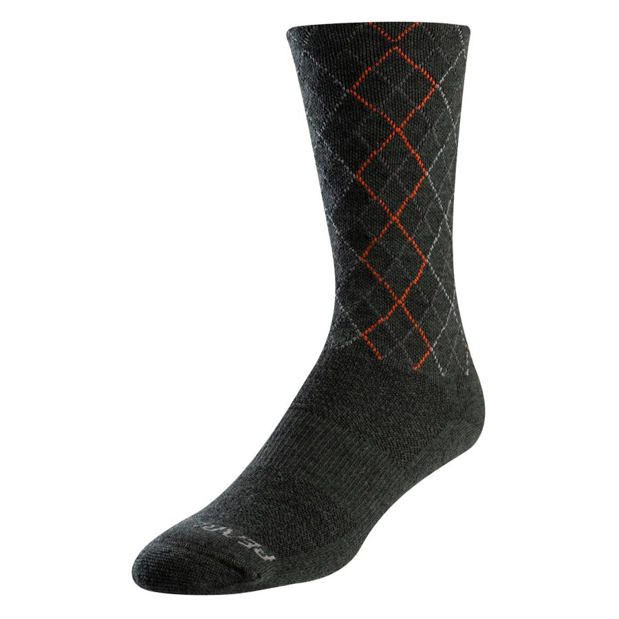 Femme/Homme Pearl Izumi Merino Thermal Sock Forest/Flame Crossing | Chaussettes