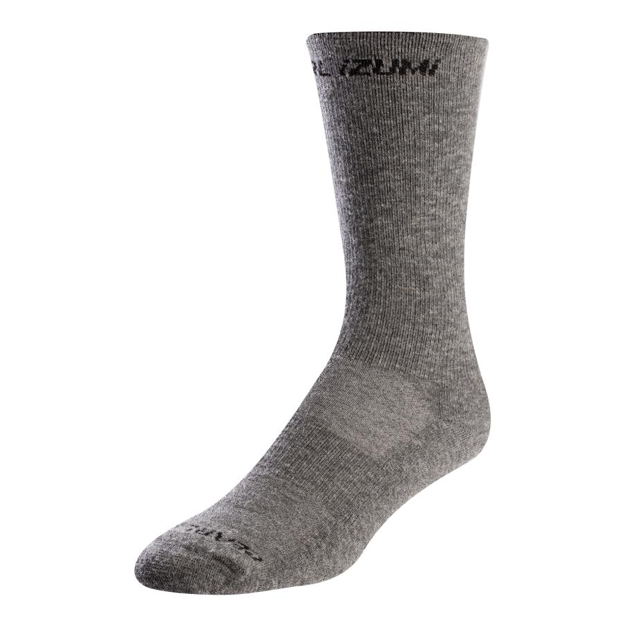 Femme/Homme Pearl Izumi Merino Thermal Sock Smoked Pearl Core | Chaussettes