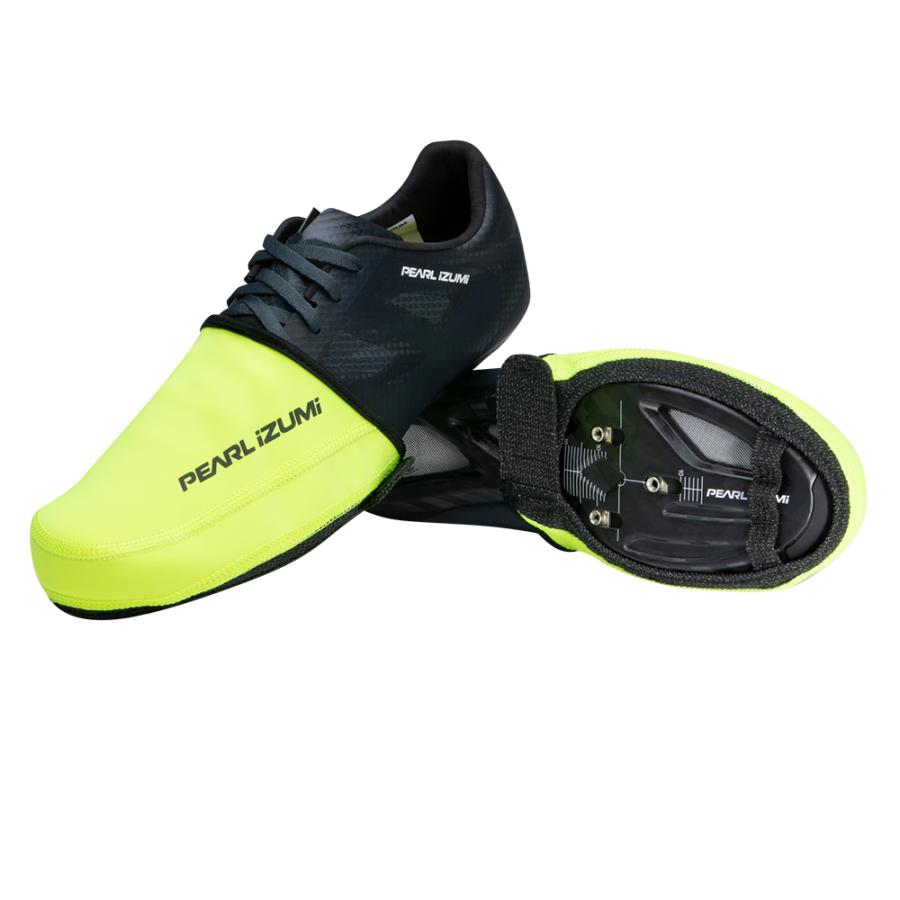 Femme/Homme Pearl Izumi PRO AmFIB Toe Cover Screaming Yellow | Couvre-Chaussures