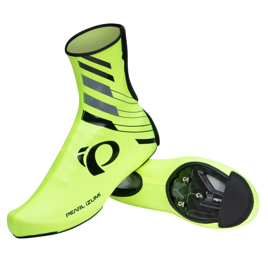 Femme/Homme Pearl Izumi PRO Barrier WxB Shoe Cover Screaming Yellow | Couvre-Chaussures