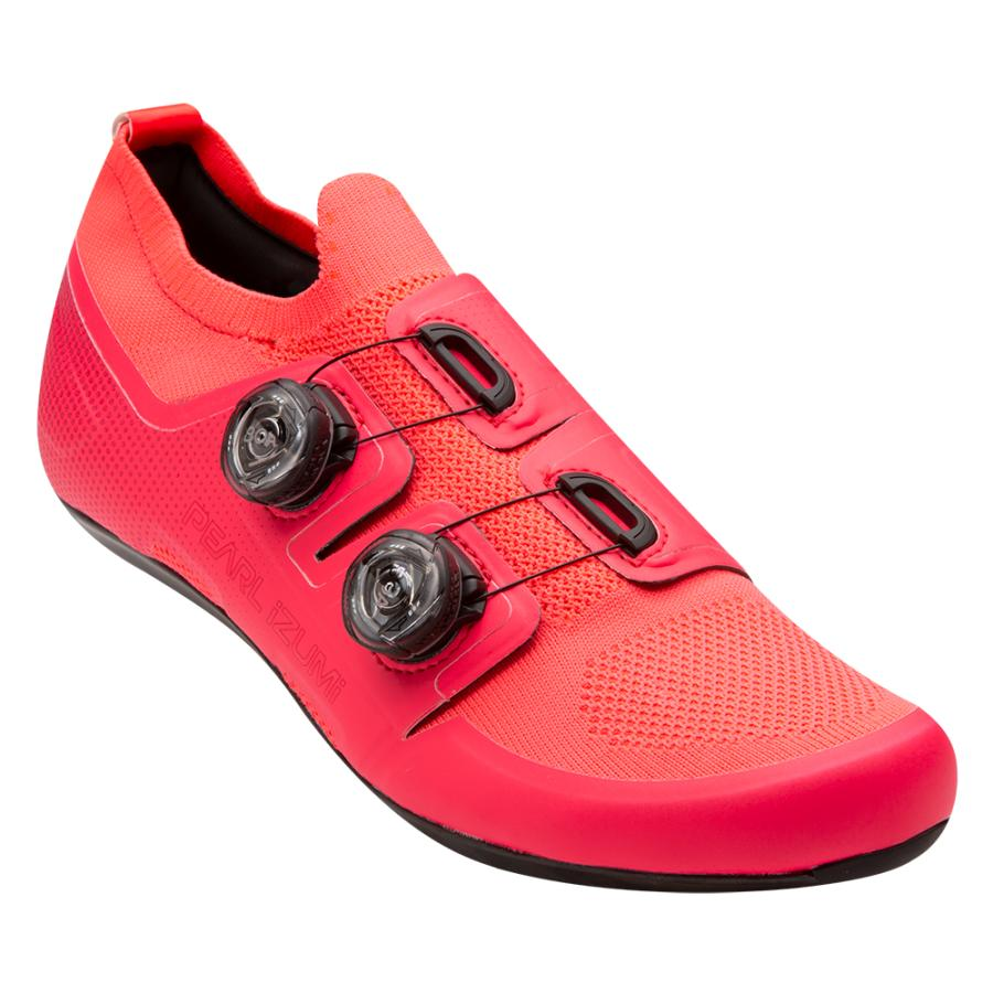 Femme/Homme Pearl Izumi PRO Road v5 Atomic Red | Chaussures