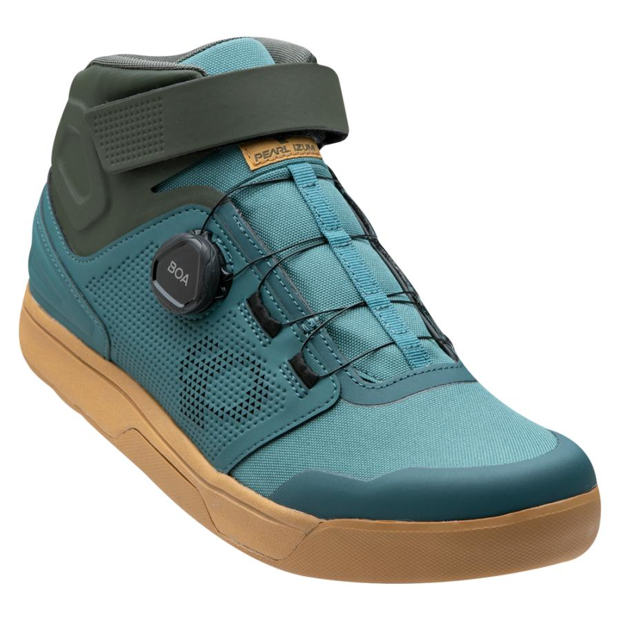 Femme/Homme Pearl Izumi X-Alp Launch Mid WRX Spruce/Forest | Chaussures