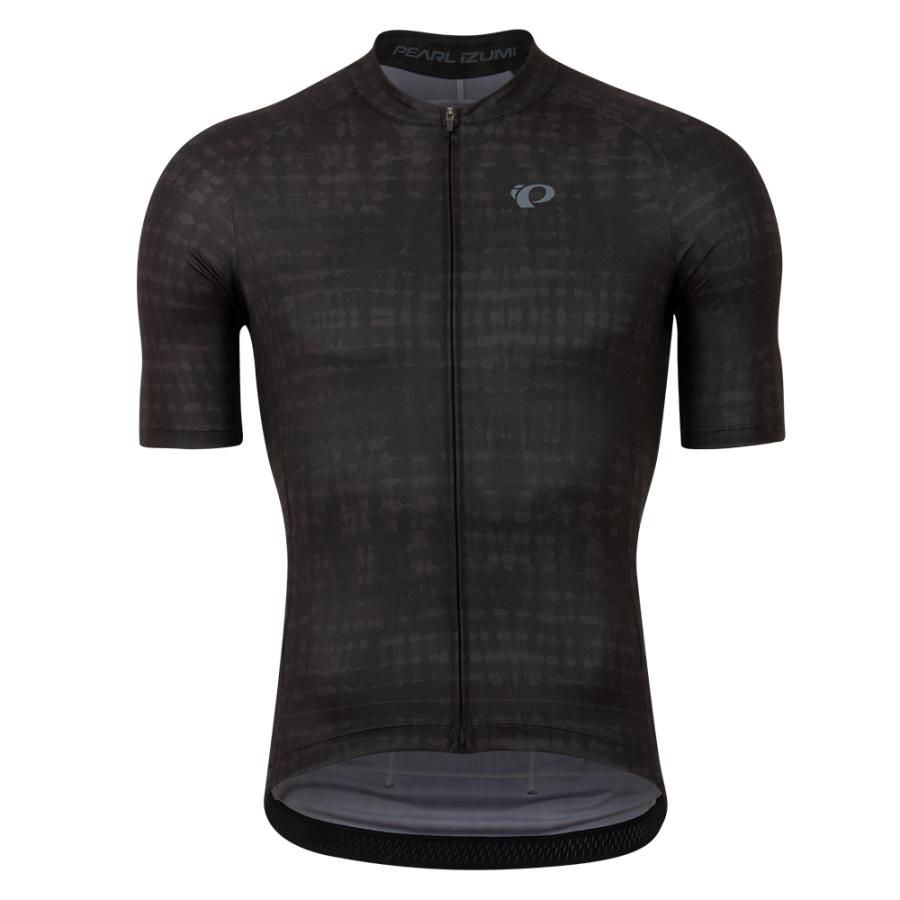 Homme Pearl Izumi Attack Jersey Black Immerse   Route