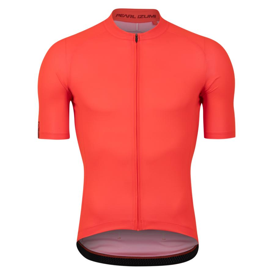 Homme Pearl Izumi Attack Jersey Screaming Red (Piece Dye) | Maillots