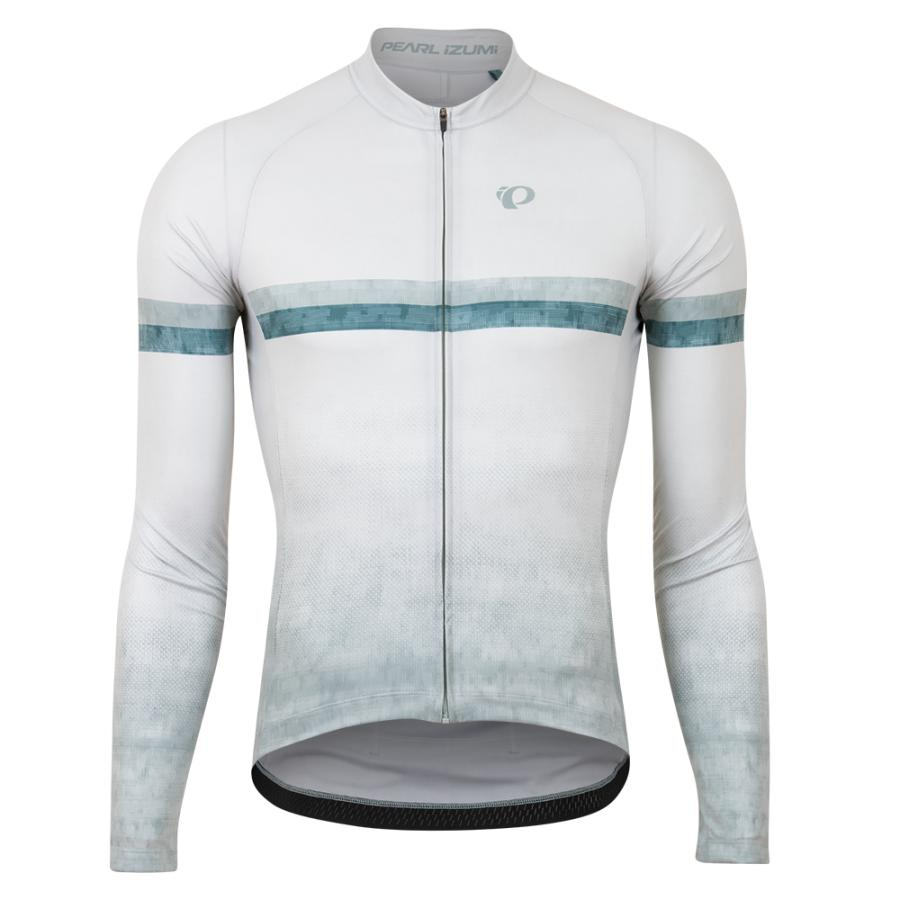 Homme Pearl Izumi Attack Long Sleeve Jersey Dawn Grey Tidal | Route