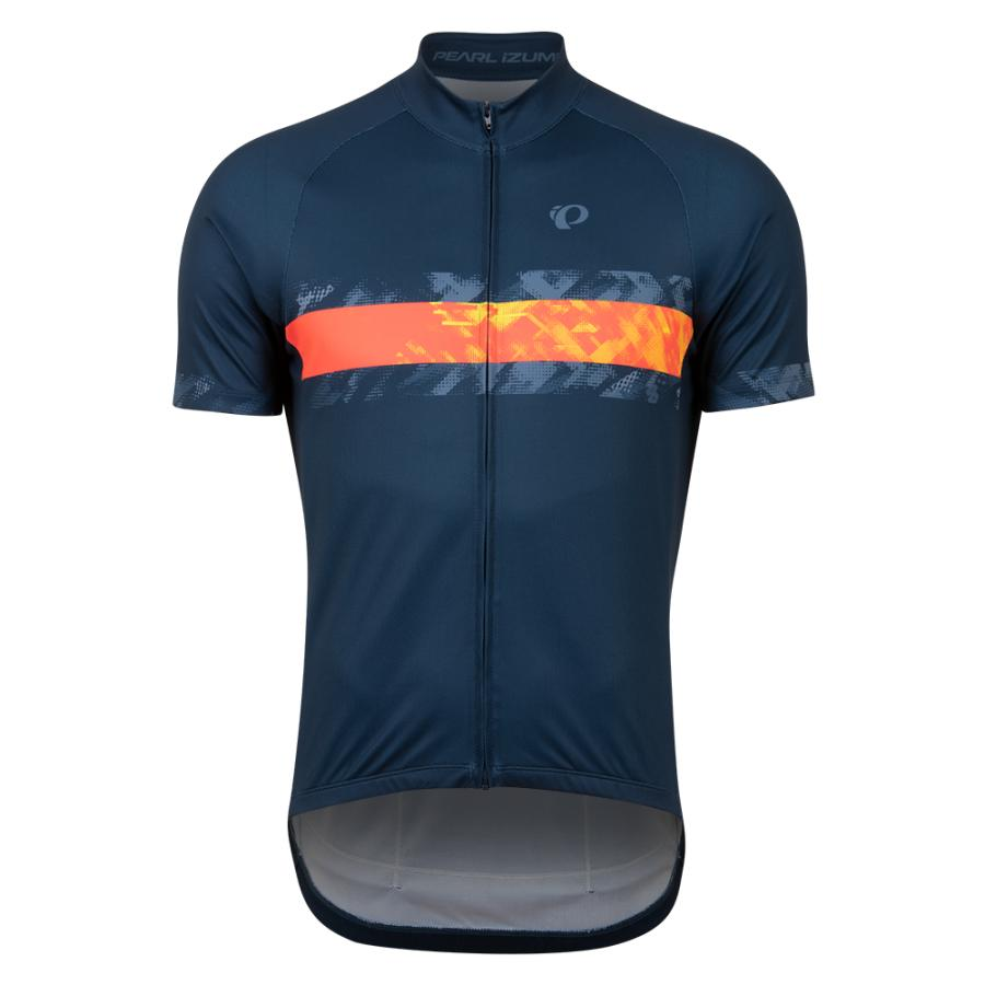 Homme Pearl Izumi Classic Jersey Navy/Screaming Red Disrupt | Maillots