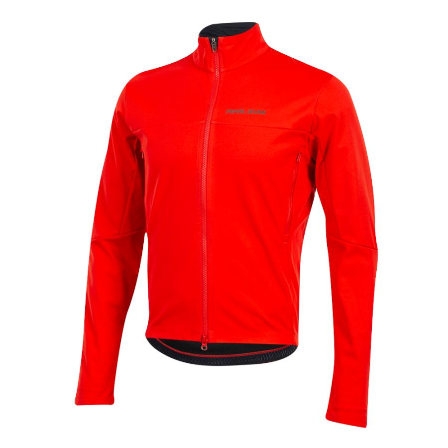 Homme Pearl Izumi Interval AmFIB Jacket Torch Red | Route