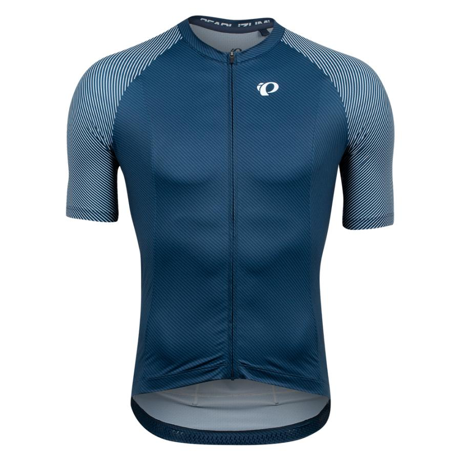 Homme Pearl Izumi Interval Jersey Navy/White Bevel | Maillots