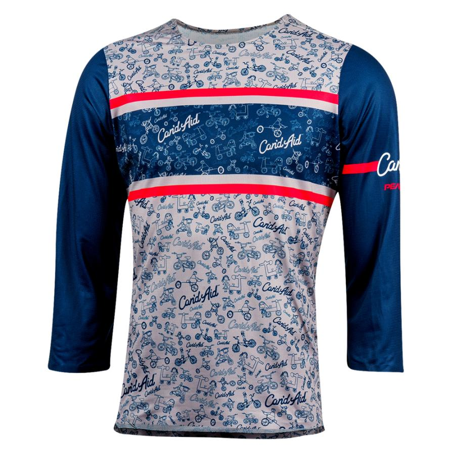 Homme Pearl Izumi Limited Edition Launch 3/4 Sleeve Jersey Can'Daid  2020 | Montagne