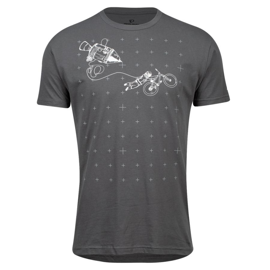 Homme Pearl Izumi PEARL iZUMi Go To Tee Heavy Metal Space Grab | Tee-Shirts Et Maillots À Manches Courtes