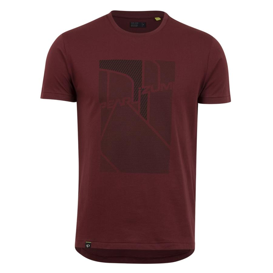 Homme Pearl Izumi PEARL iZUMi Go To Tee Redwood Screen | Tee-Shirts Et Maillots À Manches Courtes