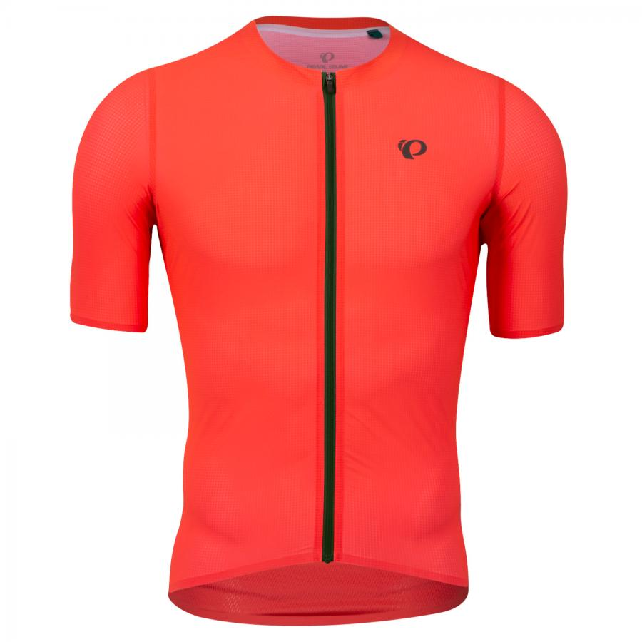 Homme Pearl Izumi PRO Air Jersey Atomic Red/Pine | Route
