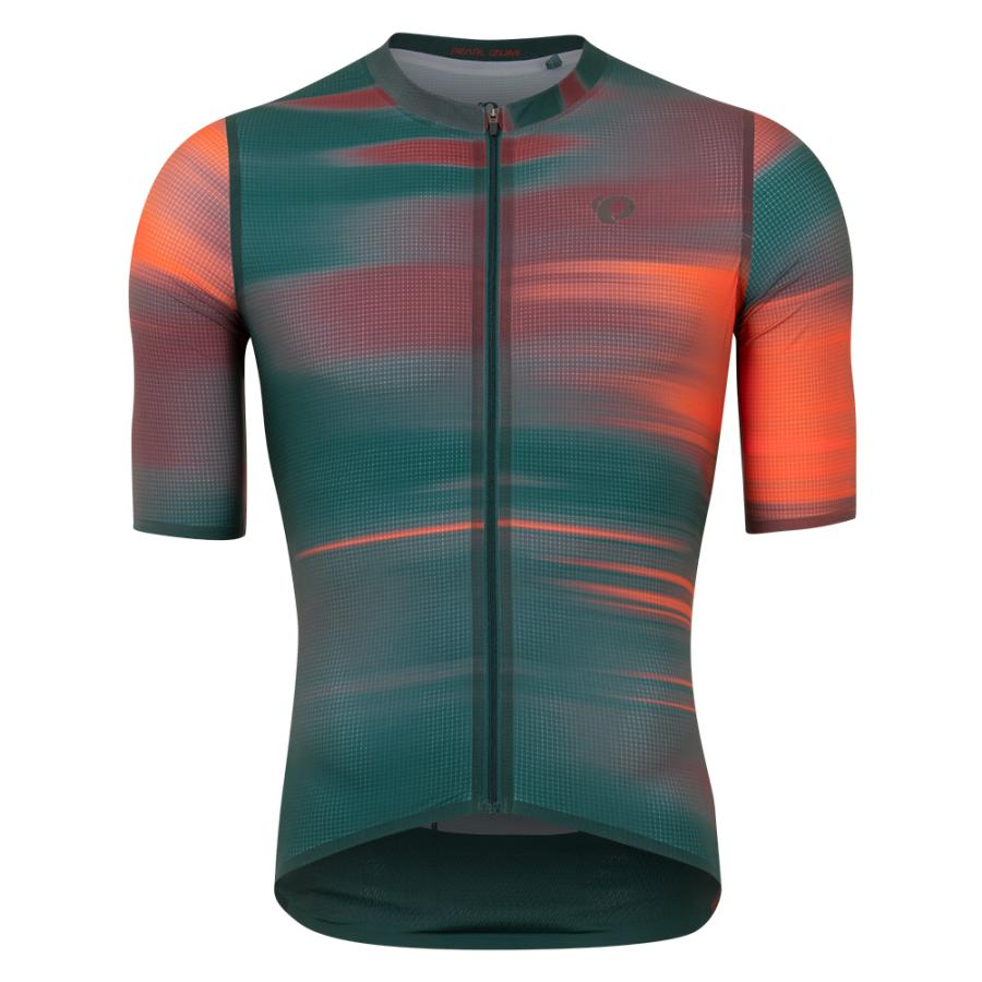 Homme Pearl Izumi PRO Air Jersey Pine Cirrus | Route