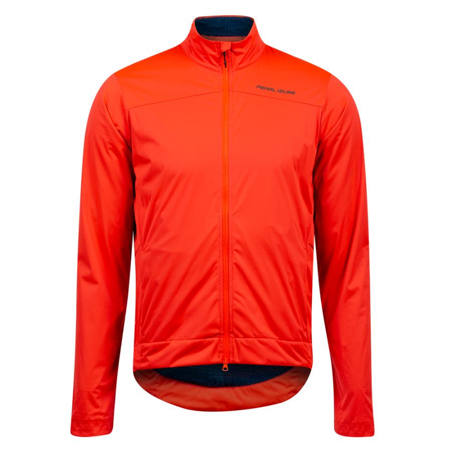 Homme Pearl Izumi PRO Insulated Jacket Screaming Red/ Twilight | Route