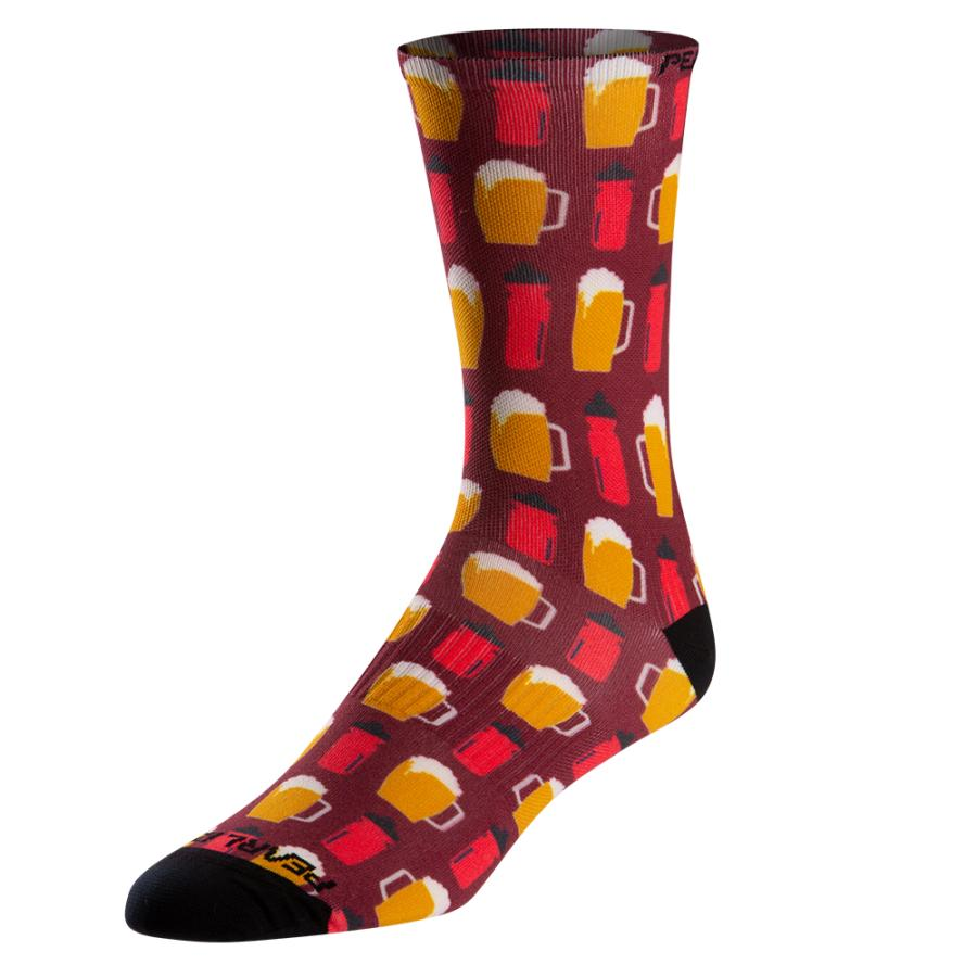 Homme Pearl Izumi PRO Tall Sock Beers And Bottles | Chaussettes