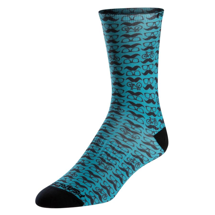 Homme Pearl Izumi PRO Tall Sock Stache And Specs | Route
