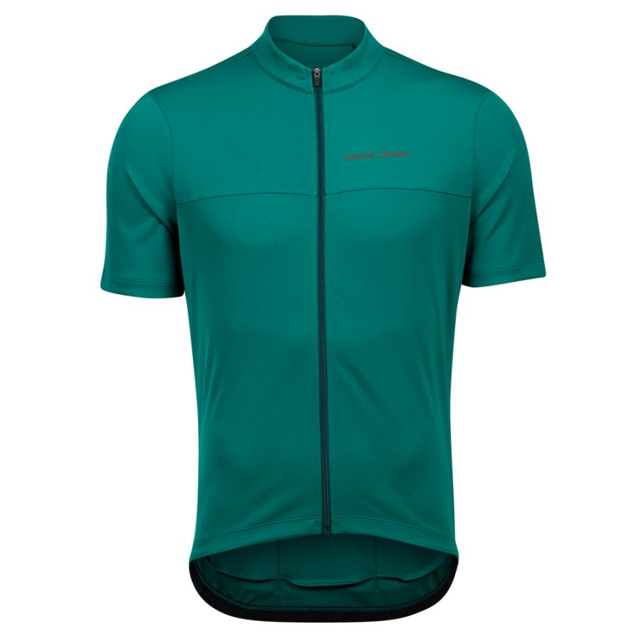 Homme Pearl Izumi QUEST Jersey Alpine Green/Pine | Maillots
