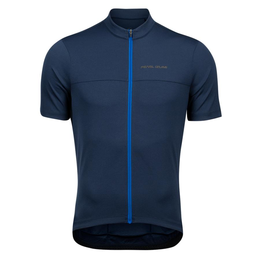 Homme Pearl Izumi QUEST Jersey Navy/Lapis | Maillots