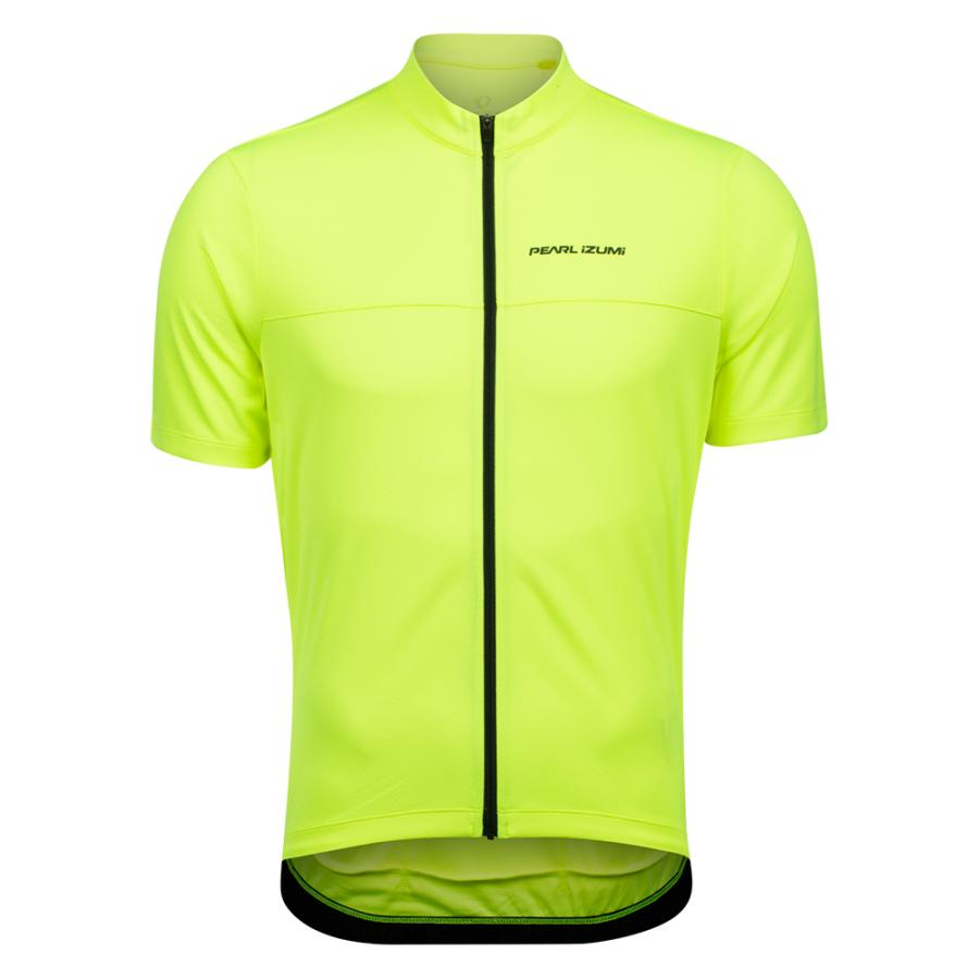 Homme Pearl Izumi QUEST Jersey Screaming Yellow/Phantom | Maillots