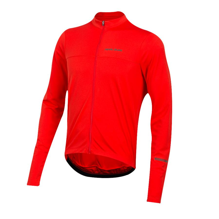 Homme Pearl Izumi QUEST Long Sleeve Jersey Torch Red | Maillots