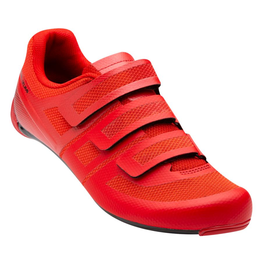 Homme Pearl Izumi Quest Road Torch Red/Black | Chaussures