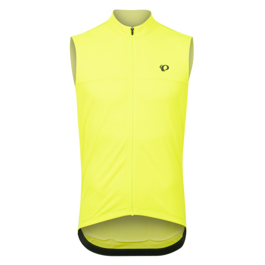 Homme Pearl Izumi QUEST Sleeveless Jersey Screaming Yellow | Maillots