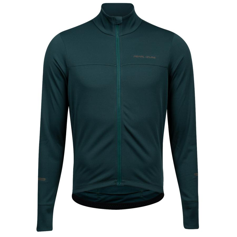 Homme Pearl Izumi Quest Thermal Jersey Pine   Maillots