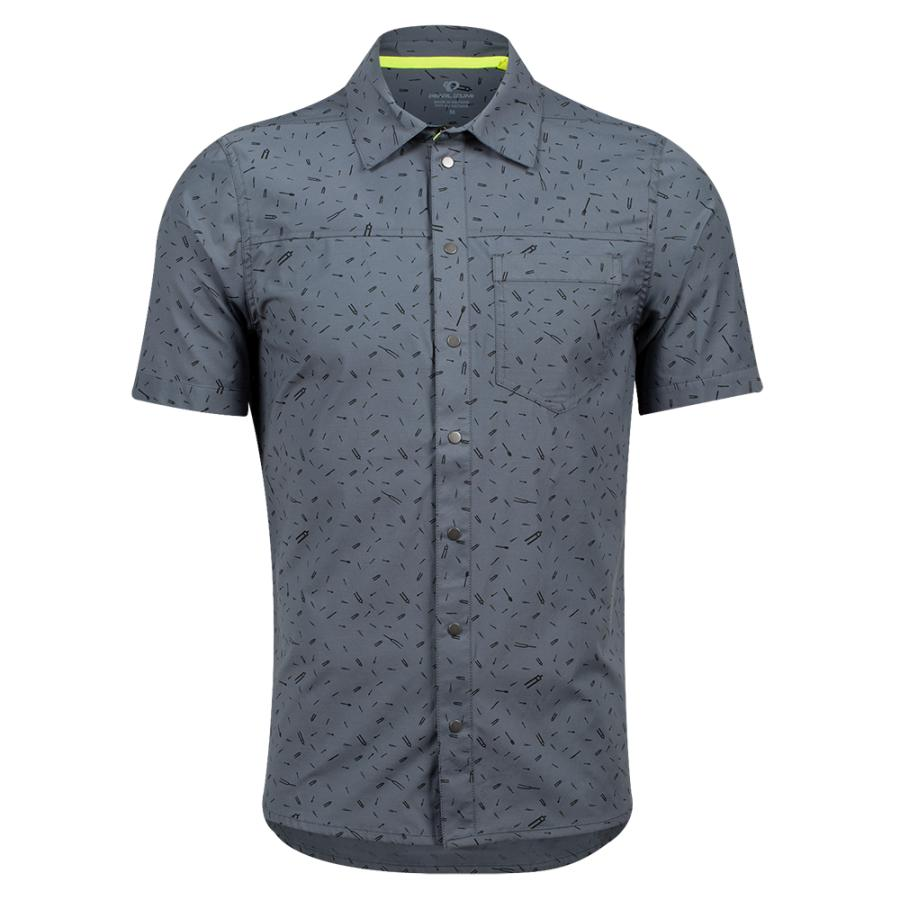 Homme Pearl Izumi Rove Shirt Turbulence Forks | Tee-Shirts Et Maillots À Manches Courtes