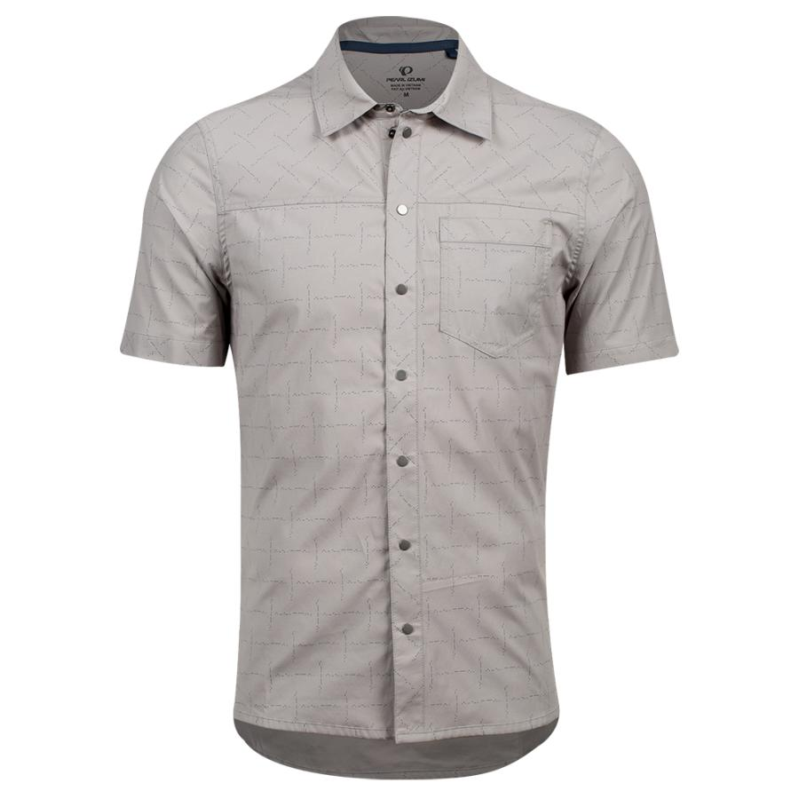 Homme Pearl Izumi Rove Shirt Wet Wther Ride More Do More | Tee-Shirts Et Maillots À Manches Courtes