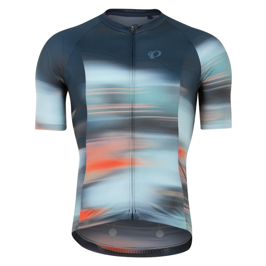 Homme Pearl Izumi Interval Jersey Navy Cirrus | Route