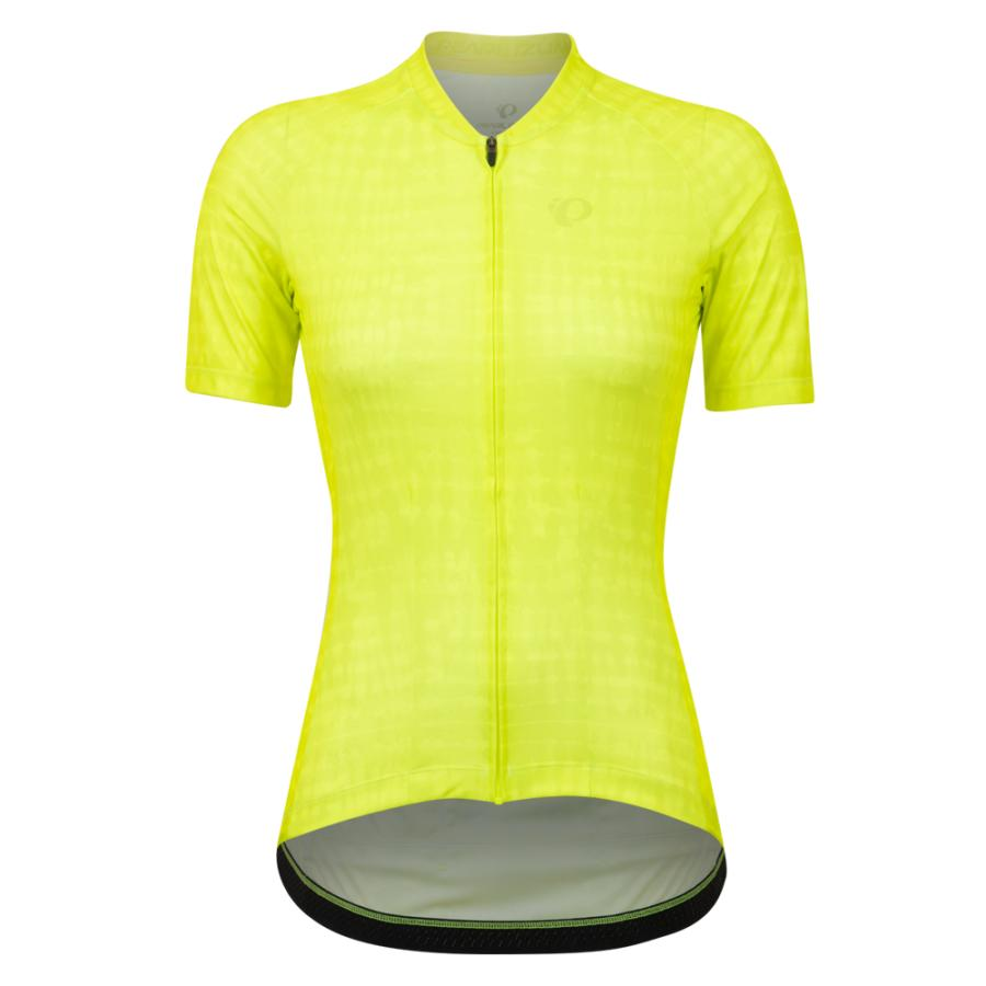 Femme Pearl Izumi Attack Jersey Screaming Yellow Immerse | Route