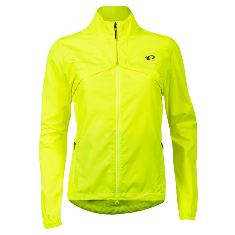 Femme Pearl Izumi Quest Barrier Convertible Jacket Screaming Yellow/Turbulence | Route